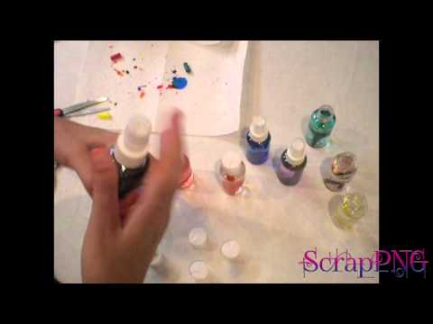 How To Make Alcohol Ink DIY Dollar Store Craft