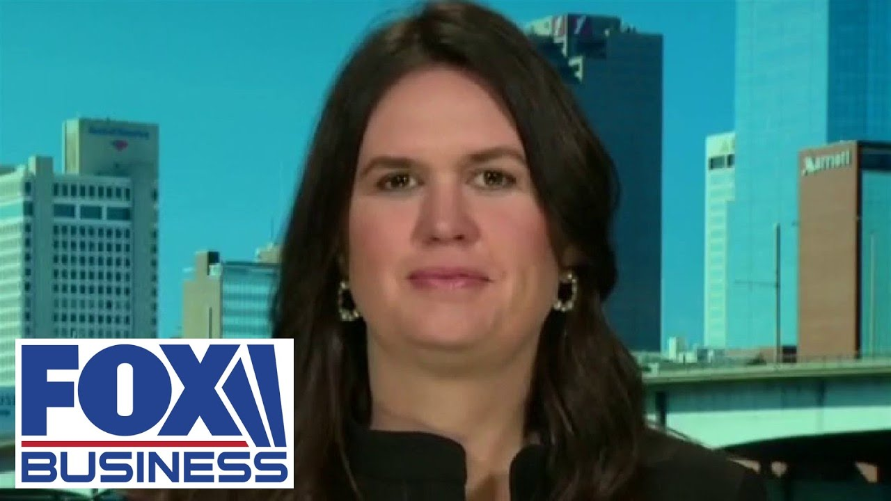 Sarah Sanders reveals the key reason she's running for governor