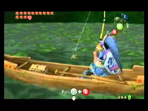 Lets Play Legend Of Zelda Twilight Princess: Catching The Hylian Loach