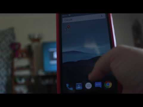 How to screencast your Cell Phone to your 4k Philips 5000 UHD TV (ZTE ZMax Pro)