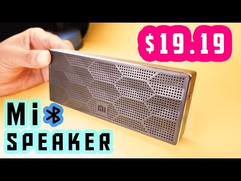 Awesome Sound Under $20 - Xiaomi Square Box Portable Wireless Bluetooth 4.0 Speaker