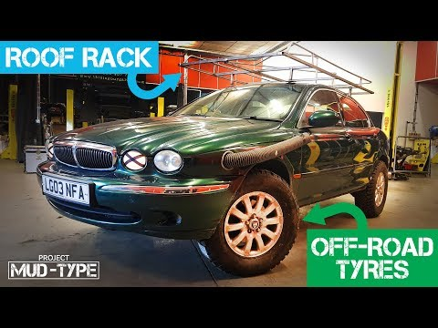 Fitting Off-Road Tyres & A Custom Roof Rack To The Mud-Type