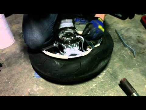 How to Change Your Motorcycle Tire