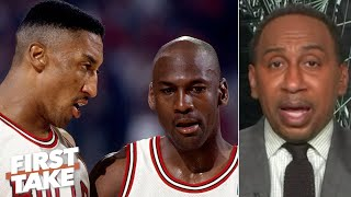 Stephen A. favors MJ's 1st Bulls' three-peat team over the 2nd | First Take