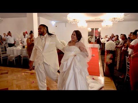 Incredible Wedding Party Entrance | Introducing Mr & Mrs Charles & Madylaine Tu'ipulotu