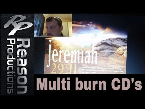 Burn multiple Cd's at once