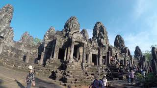 ប្រាសាទបាយ័ន Bayon Temple Siem Reap, Cambodia