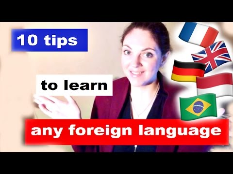 10 tips to learn any language