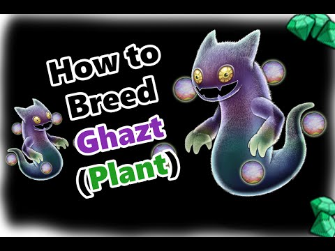 My Singing Monsters How To Breed Ghazt in Plant Island (and SOUND!)