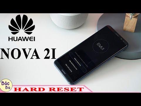 HOW TO HARD RESET HUAWEI  NOVA 2I   REMOVE PATTERN , PIN, PASSWORD LOCK