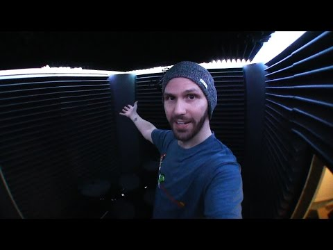 I Built a Sound Booth in My Apartment Garage!