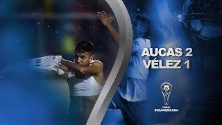 Aucas vs. Vélez [2-1] | GOLES | CONMEBOL Sudamericana 2020