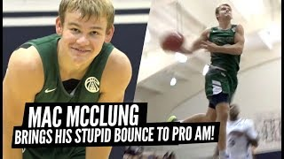 Mac McClung JUMPS OUT THE GYM During PRO AM Game at Kenner League! Gets BUCKETS!!