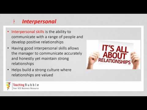 VCE Business Management - Skills part 2