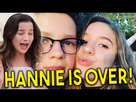 ANNIE CRIES AND BREAKS UP WITH HAYDEN AFTER HE CHEATED ON HER WITH KENZIE | HANNIE
