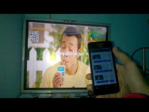 Karaoke Online Trên Smart TV Với Ứng Dụng Hát Với Nhau