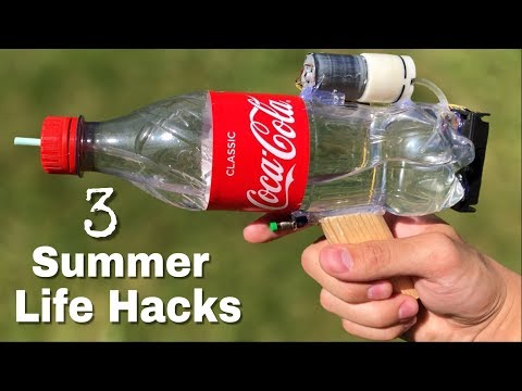 3 incredible ideas and Life Hacks for Summer You Should Know