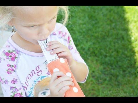 DIY Popsicle sleeve
