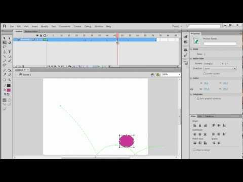 Create a Motion Tween in Flash