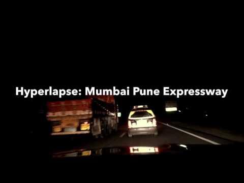 Hyperlapse: Mumbai Pune Expressway. Shot from F10 520d