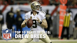 Top 10 Drew Brees Plays Of 2015 Nfl