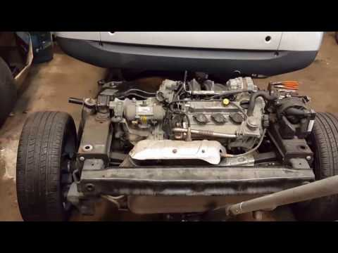 Smart Fortwo Engine and Cradle Swap 2012 into a 2008