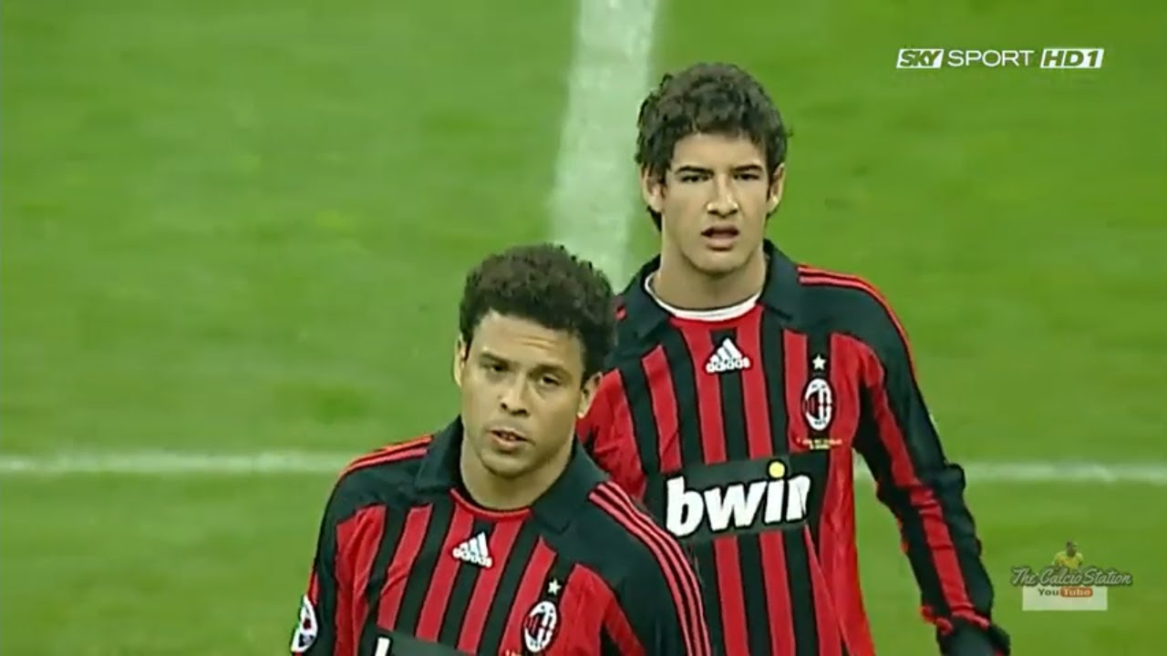 Milan vs Napoli FULL MATCH (Serie A 2007-2008)