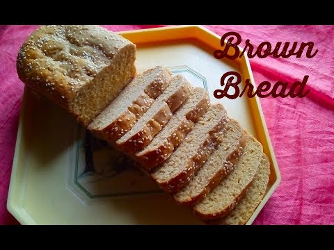 How to make Brown Bread /  without oven    without  machine   without  eggs