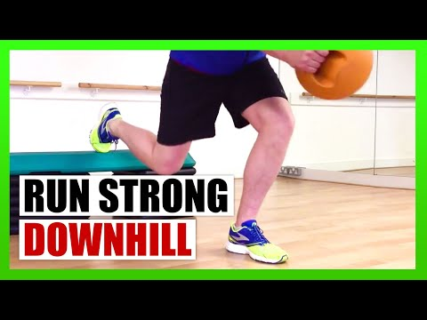 Strengthen Your Legs for Downhill Running