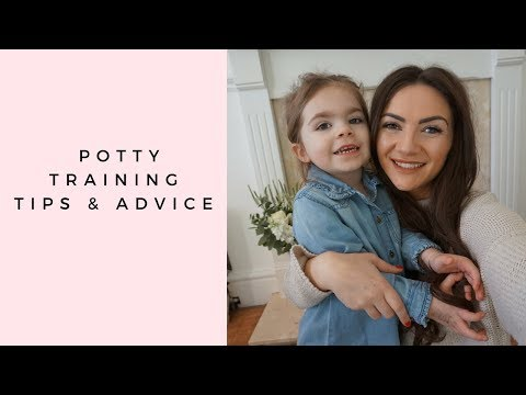 POTTY TRAINING TIPS & ADVICE | HOW I POTTY TRAINED MY TODDLER IN 3 DAYS