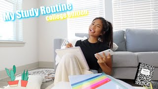 MY STUDY ROUTINE (COLLEGE EDITION)