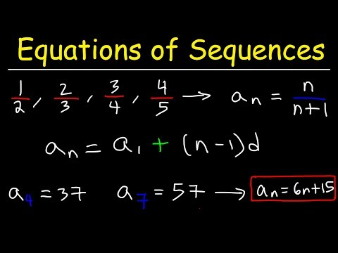 Writing a General Formula of an Arithmetic Sequence