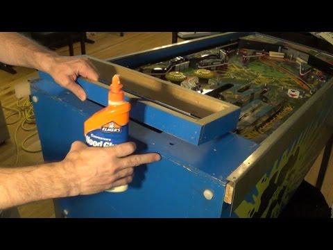 Flight 2000 Pinball Project (Part 2) - Rebuilding Back Box Head Support