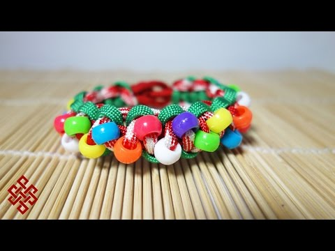 How to Make an Ugly Christmas Sweater Paracord Bracelet