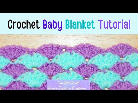 Crochet Shell Stitch Tutorial - Crochet Jewel