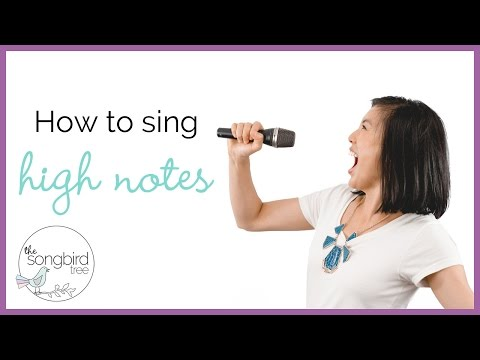 Singing Tutorial: How to Sing High Notes