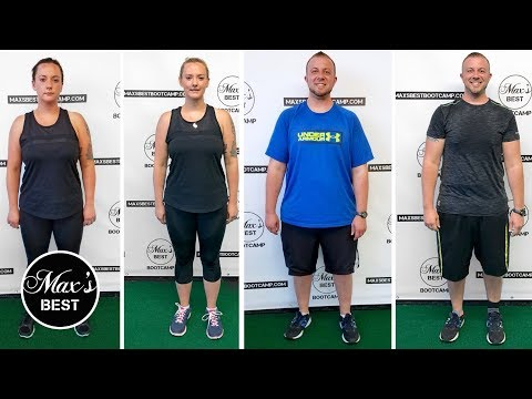 COUPLE'S 6 WEEK WEIGHT LOSS BEFORE & AFTER RESULTS | Lost 33 LBS. In 6 Weeks At Max's Best Bootcamp