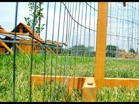 Fencing & Netting Made Easy- Portable Chicken Fence Post kit