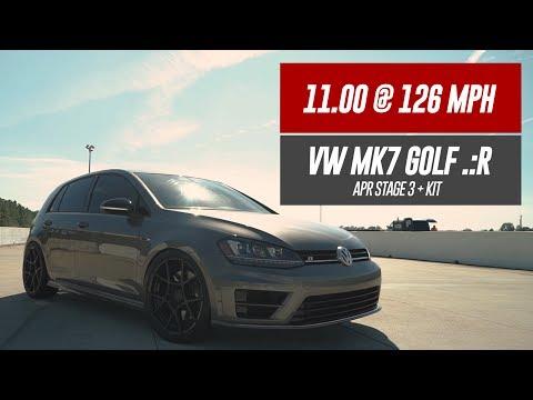 11.00 @ 126MPH   USP Stage 3+ VW MK7 Golf .:R