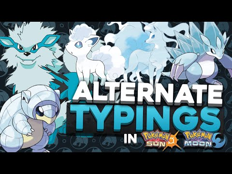 ALTERNATE TYPED POKEMON! Water Typed Arcanine? Alola Forms in Pokemon Sun and Moon
