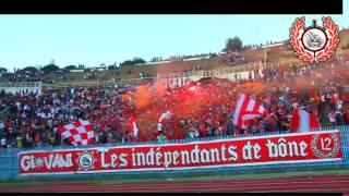 Les Indépendants De Bône :ambiance   Craquage Match  Usman Vs Usb