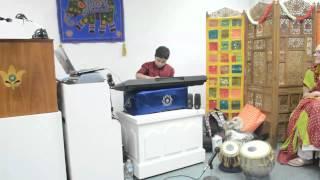 Soham Chakraborty singing at SRF
