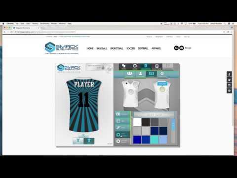 How to Use Smack Sublimated Custom Uniform Builder