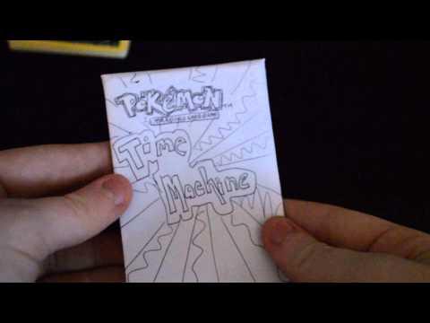 Homemade Pokemon Booster Pack Part 1
