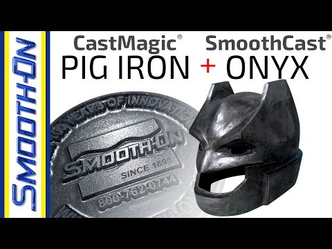 Creating a Metallic Finish on a Batman Cosplay Helmet Using Cast Magic® Pig Iron