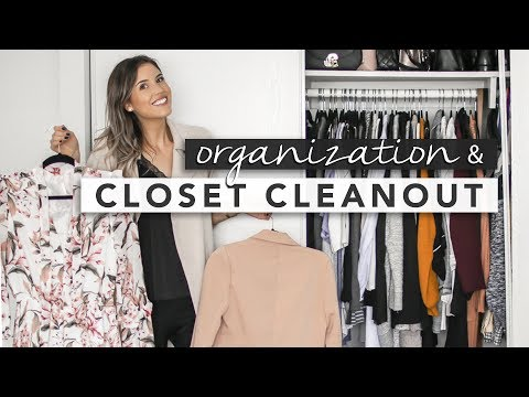 Cleaning Out and Organizing My Closet | by Erin Elizabeth