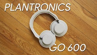 Plantronics BackBeat Go 600 hands-on