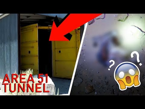 AREA 51 WE HAD TO RETURN TO THIS  MASSIVE CREEPY ABANDONED TUNNEL!!