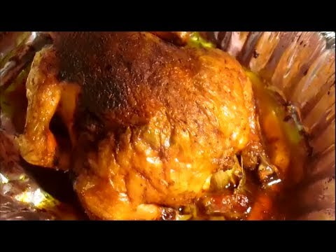 COOKING CHRISTMAS DINNER...ROASTED WHOLE CHICKEN
