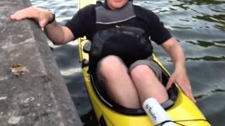 Expert kayak exit